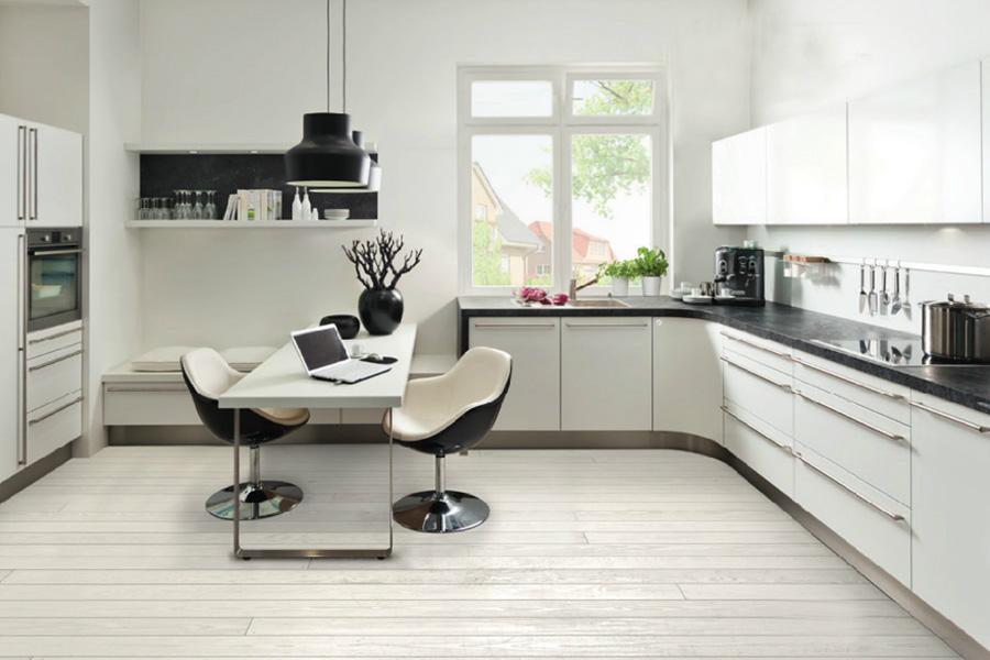 Bienvenidos a dg muebles cocinas i mobiliario de hogar y - Cocinas en blanco y negro ...