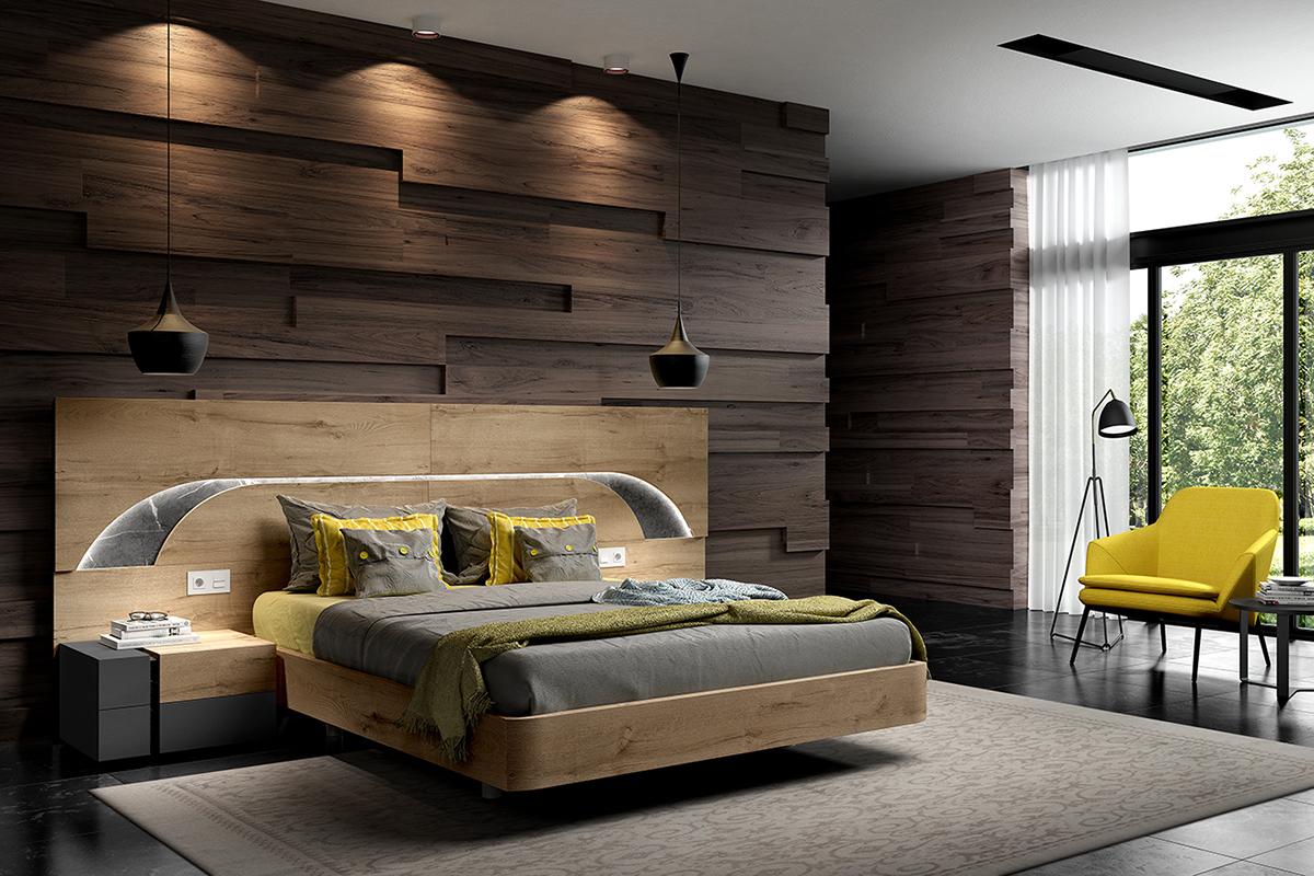 Bienvenidos a dg muebles cocinas i mobiliario de hogar y - Dormitorio matrimonial moderno ...