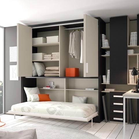 Bienvenidos a dg muebles cocinas i mobiliario de hogar y - Cama empotrada en armario ...