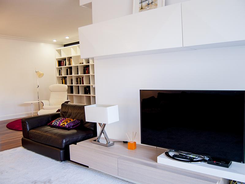 Bienvenidos a dg muebles cocinas i mobiliario de hogar y - Muebles de pladur para salon ...