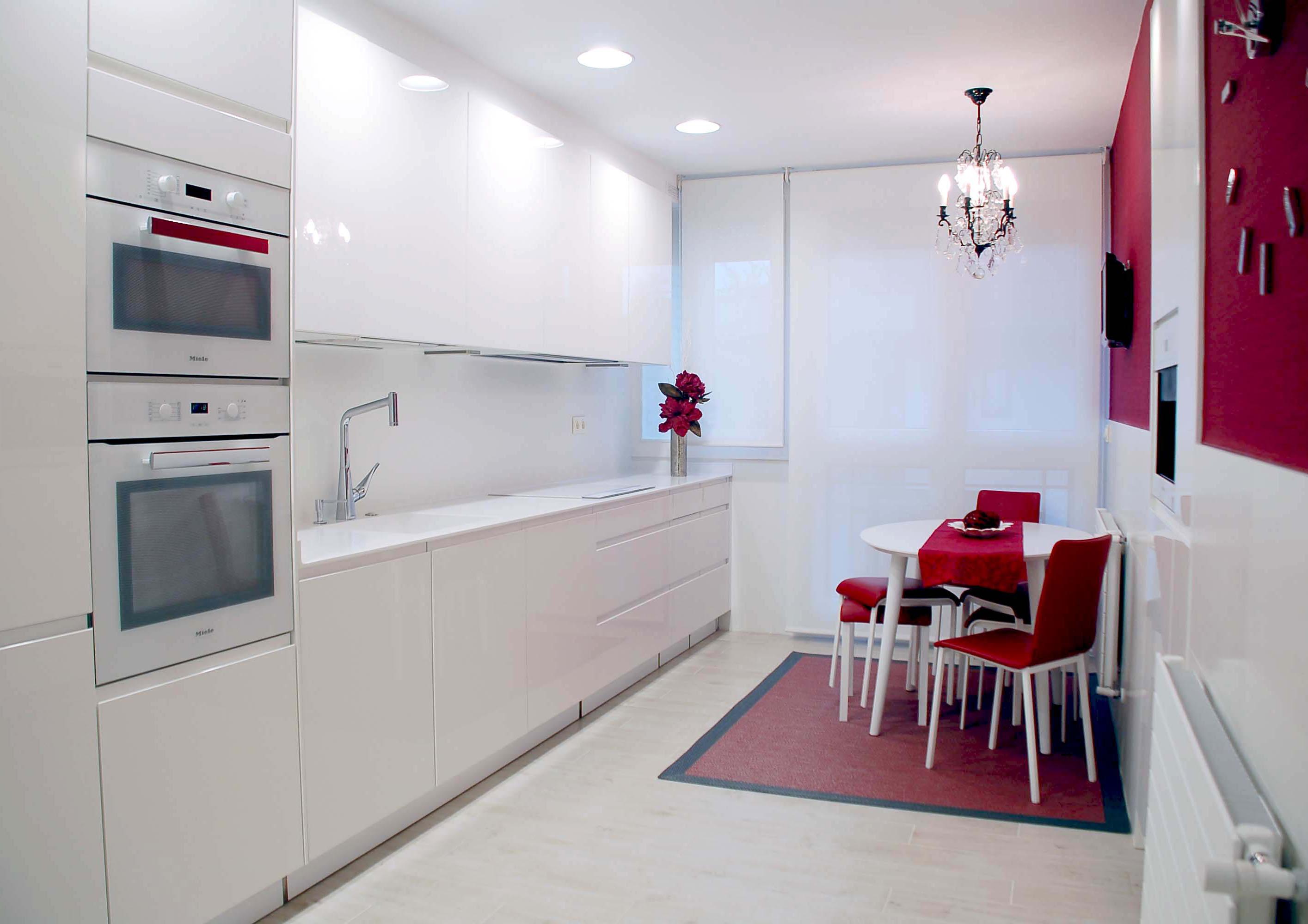 Bienvenidos a dg muebles cocinas i mobiliario de hogar y - Cocinas con electrodomesticos blancos ...
