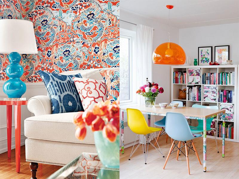 mueble salon color